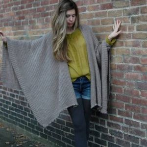 Accessories - Cozy Wrap Poncho